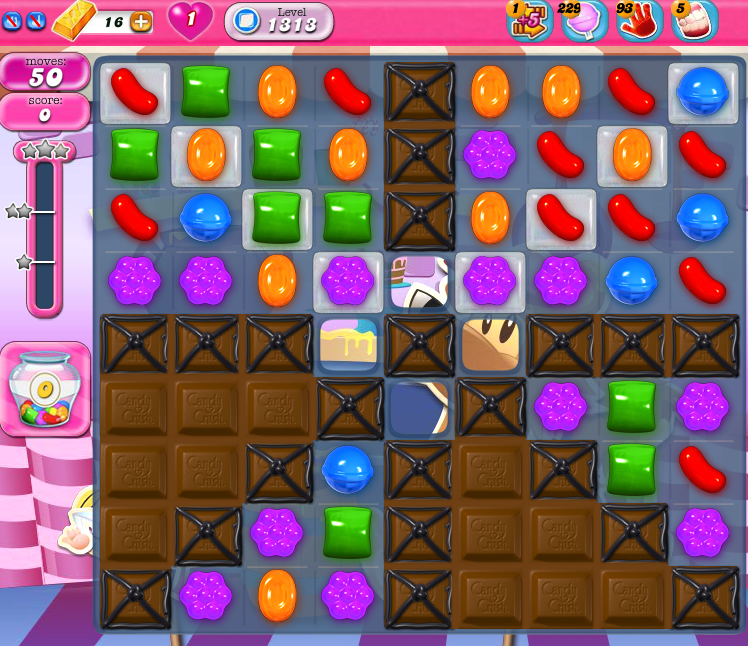 Candy Crush Saga 1313
