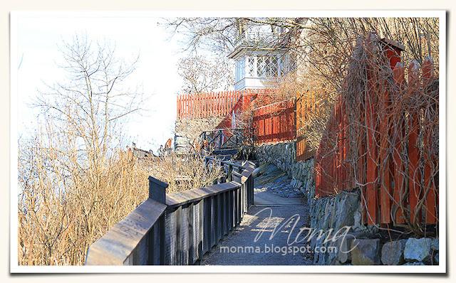 Stockholm, kärlekens stig