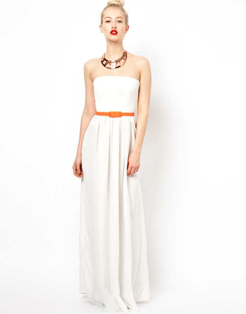 aqua mary maxi dress