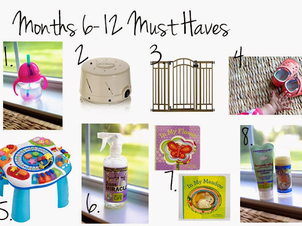 Months 6-12 Must Haves for Baby