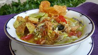 Resep Soto Ayam Kampung, Soto Babat, Makanan Indonesia, Masakan Indonesia, Soto Madura, Soto Lamongan