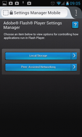 Install Use Flash on Android Device