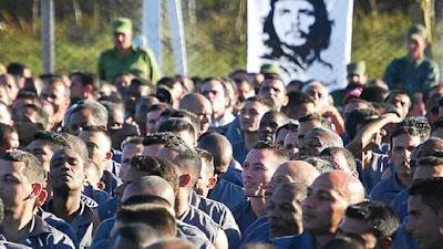 Presos fornecem mão de obra escrava para as estatais cubanas