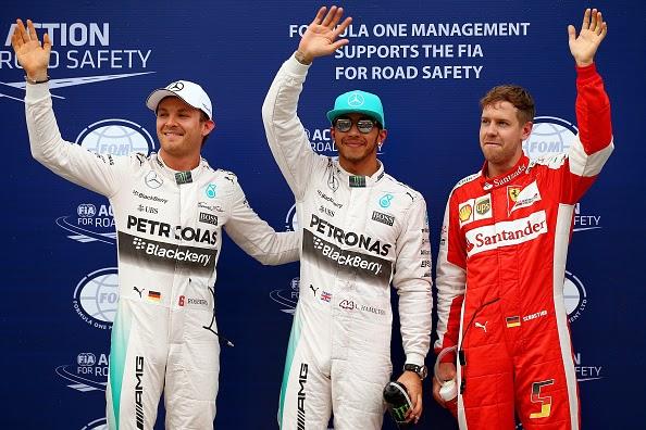 Keputusan F1 Grand Prix China 12 April 2015
