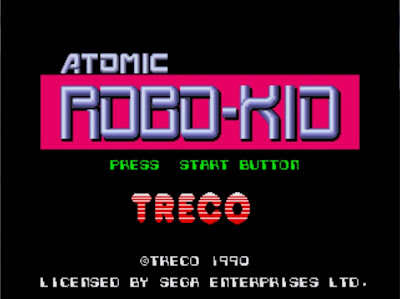 Atomic Robo Kid title screen
