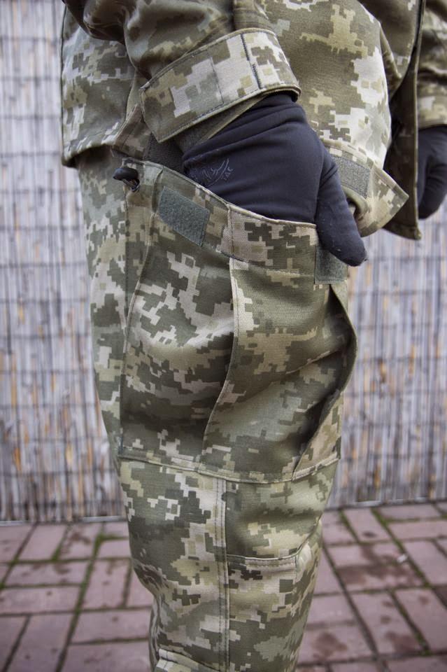 польова форма 2015 - штани кишеня стегно
