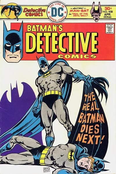 Detective Comics #458, the killer tatooist