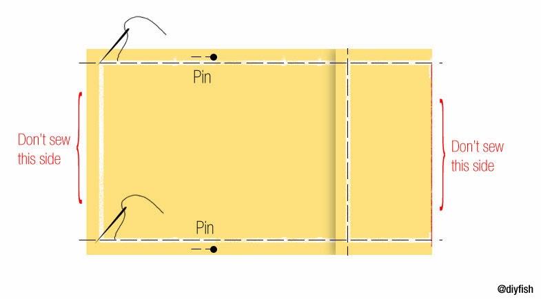 Adjustable Fabric Book Cover : Tutorial no adjustable fabric book cover d i y