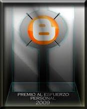 Premio Blogger 2009