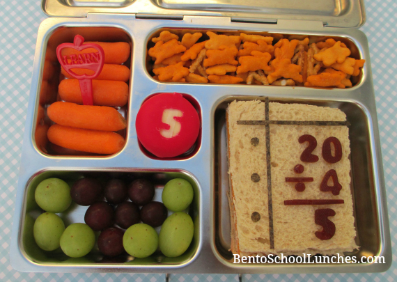 Back to school lunch, grade 5,