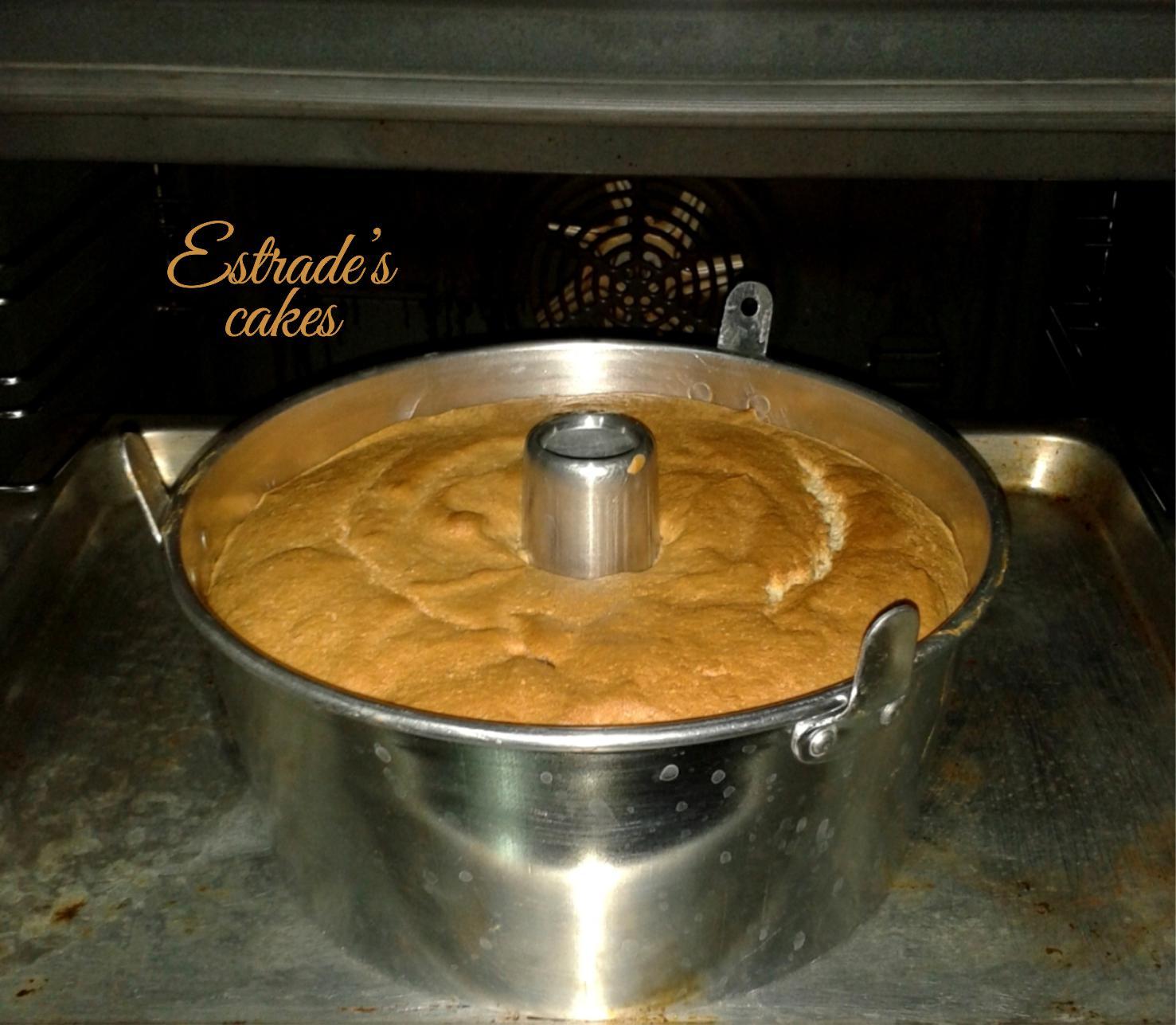 receta de bizcocho esponja clasico - horno