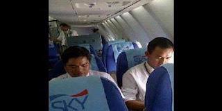 Foto Awak Penumpang sebelum jatuhnya pesawat Sukhoi Superjet100