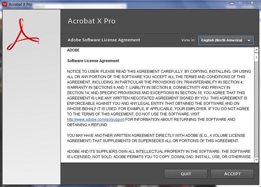 adobe acrobat pro license