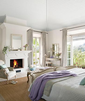 habitaciones con chimenea ideas para decorar dise ar y