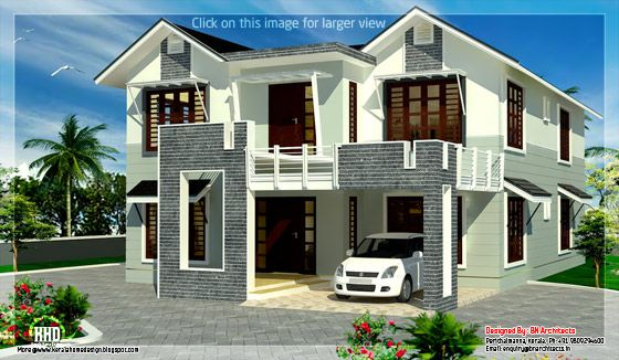 2800 sqft. villa design 1