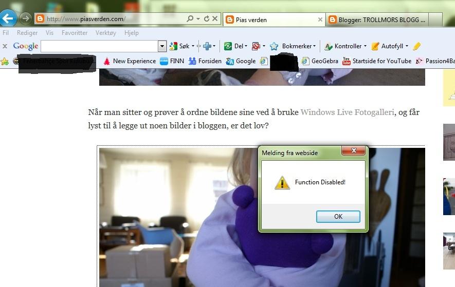 Trollmors blogg: mai 2011