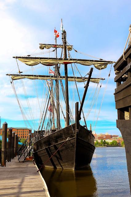 Tall Ship Nina and Pinta