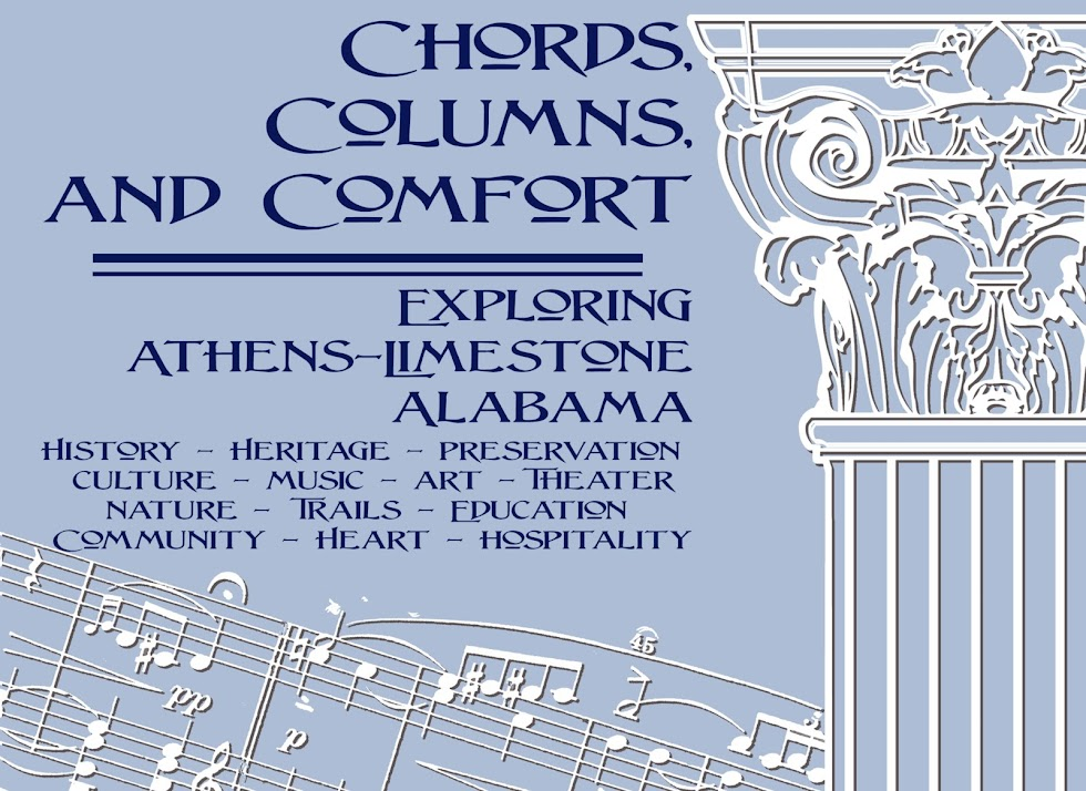 Chords, Columns, and Comfort- Athens-Limestone, AL