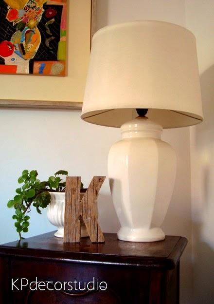 Lámparas de cerámica para el salón. Ideas para iluminar el salón y el recibidor con lámparas de cerámica.