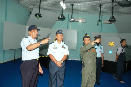 Delegasi Philipine Air Force Kunjungi Adisutjipto