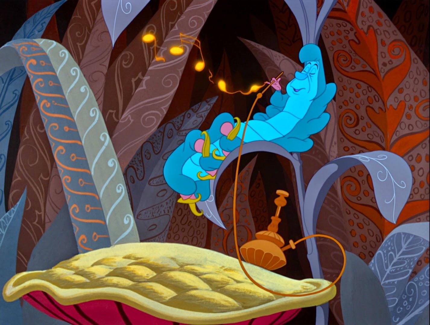 smoking that hookah pipe   Alice In Wonderland Hookah