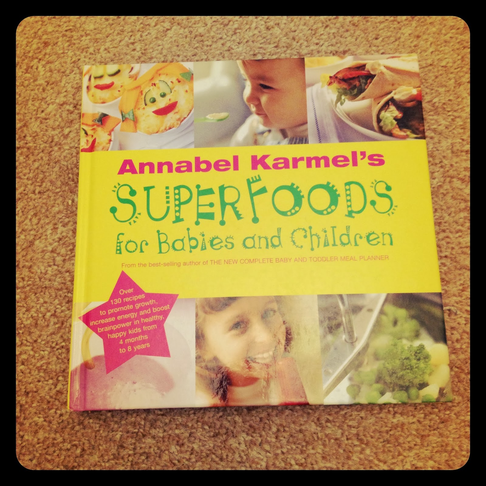mamasVIB | V. I. BAKE: Something for the weekend…Superfoods for babies and Children, V. I. BAKE | Something for the weekend | toddler meal | food planning | Annabel Karmel | kids eating | baby food | mamasVIB