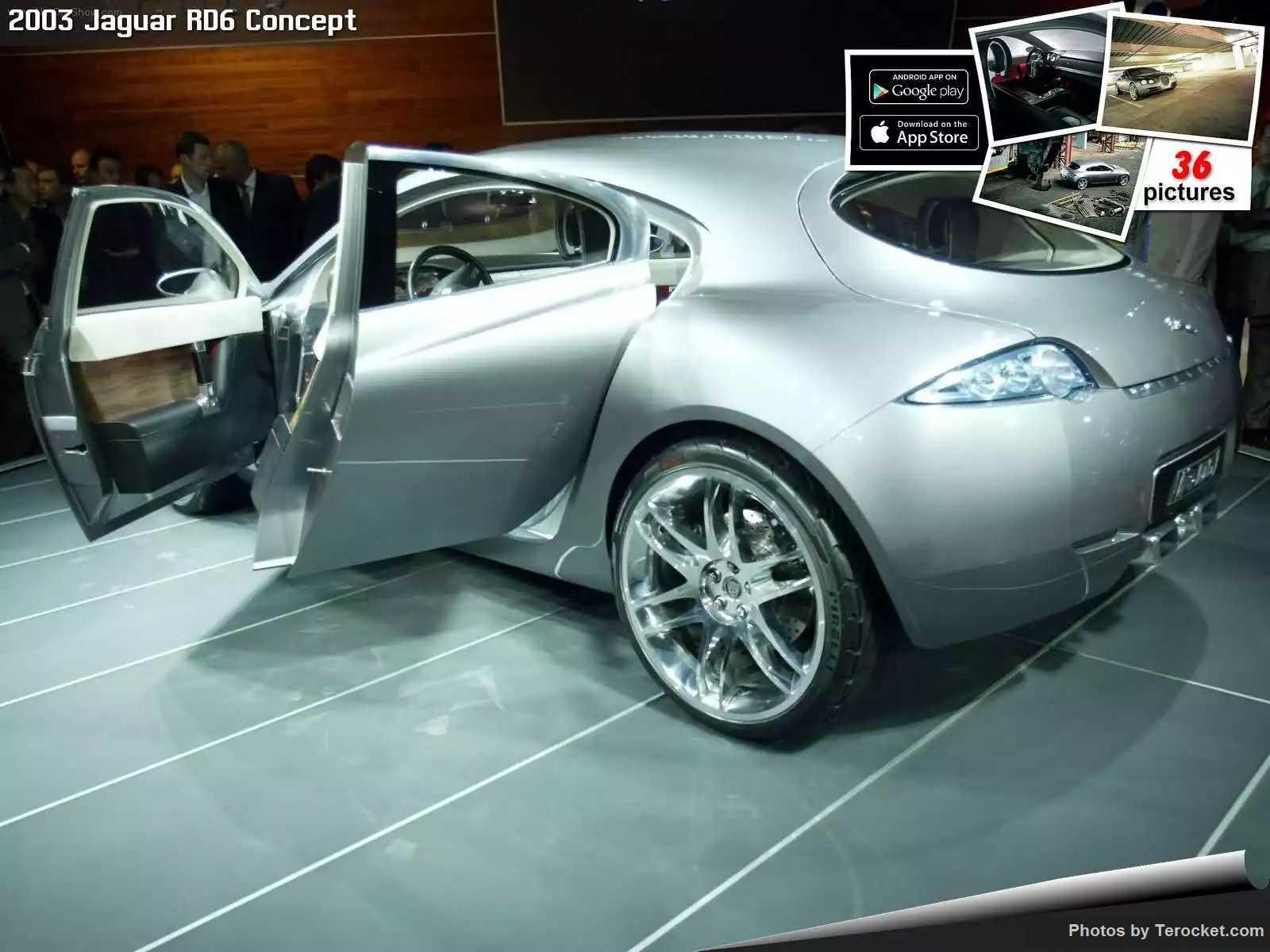 Hình ảnh xe ô tô Jaguar RD6 Concept 2003 & nội ngoại thất