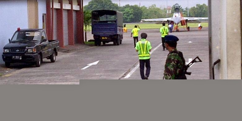 """Tiga Sukhoi """"Mangkal"""" di Base Ops Ngurah Rai, Apa Penjelasan Resminya?"""