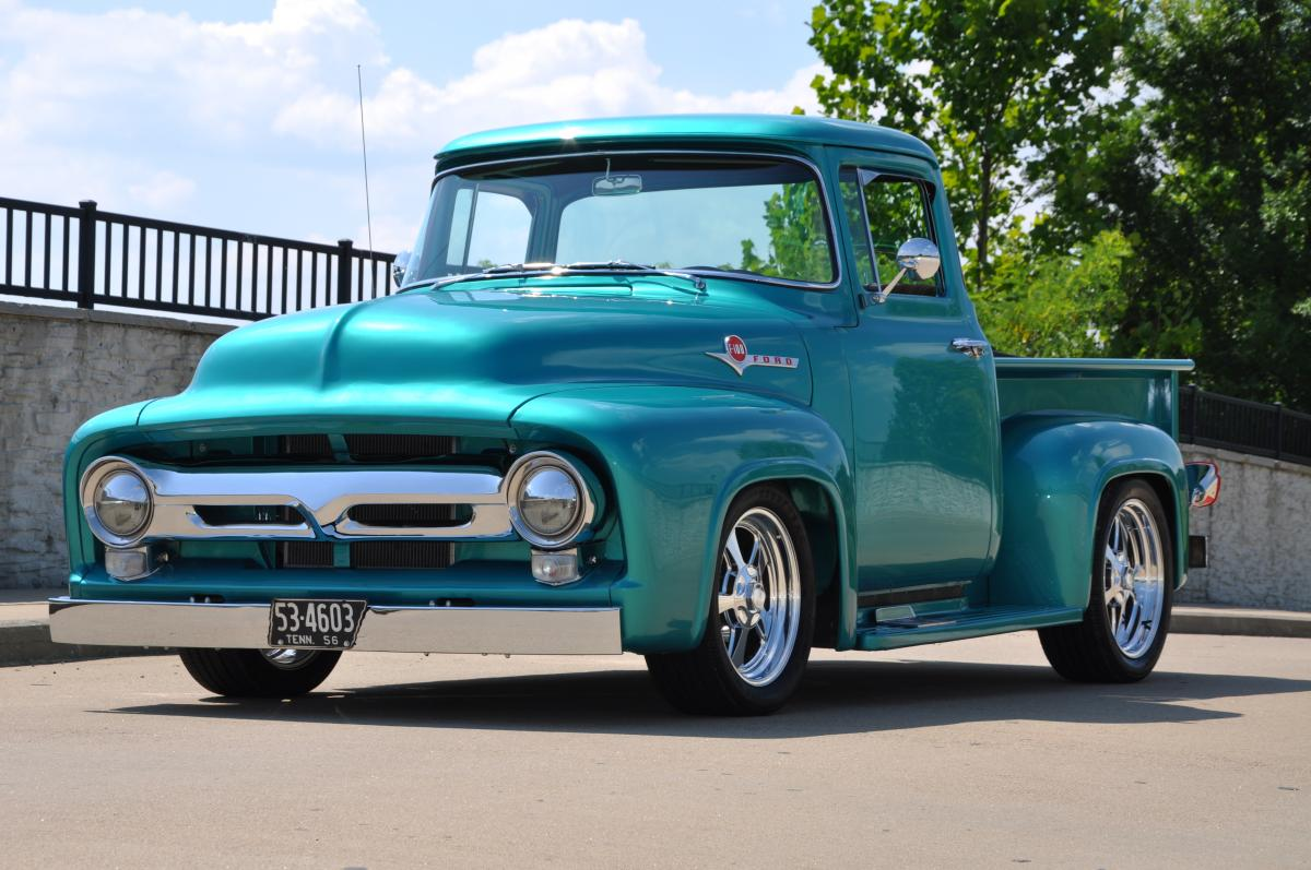 1956 Ford F100 Hot Rods Street Rods Pickup Pictures Autogado
