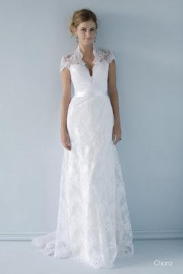 Vestido de noiva, simlpes
