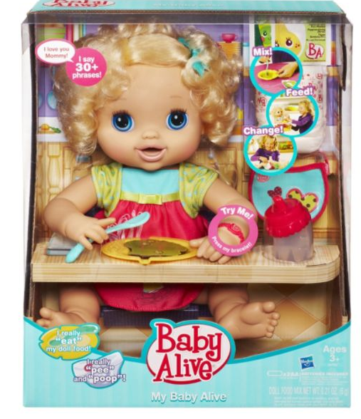 photograph regarding Alive Printable Coupon referred to as Boy or girl Alive My Kid Alive $21.99 At Meijer