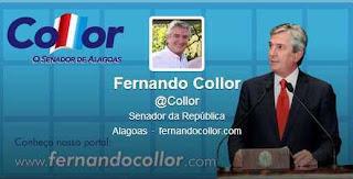 Senador Fernando Collor : Biografia,Fotos,Vídeos e Notícias em Tempo Real via site oficial, twitter,web e Youtube