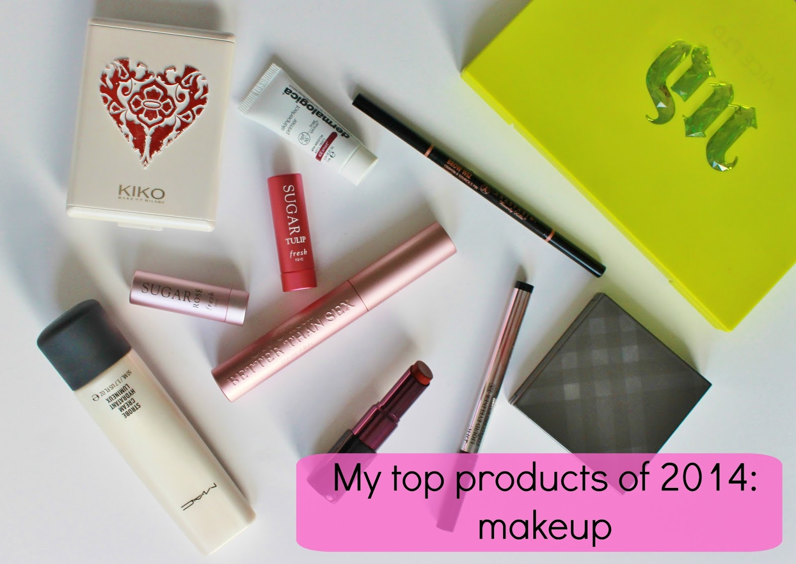 top makeup products of 2014