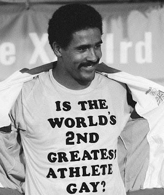 ¿El segundo mejor atleta del mundo es gay?