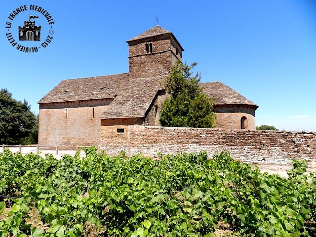 BURGY (71) - Eglise romane Saint Jean Baptiste