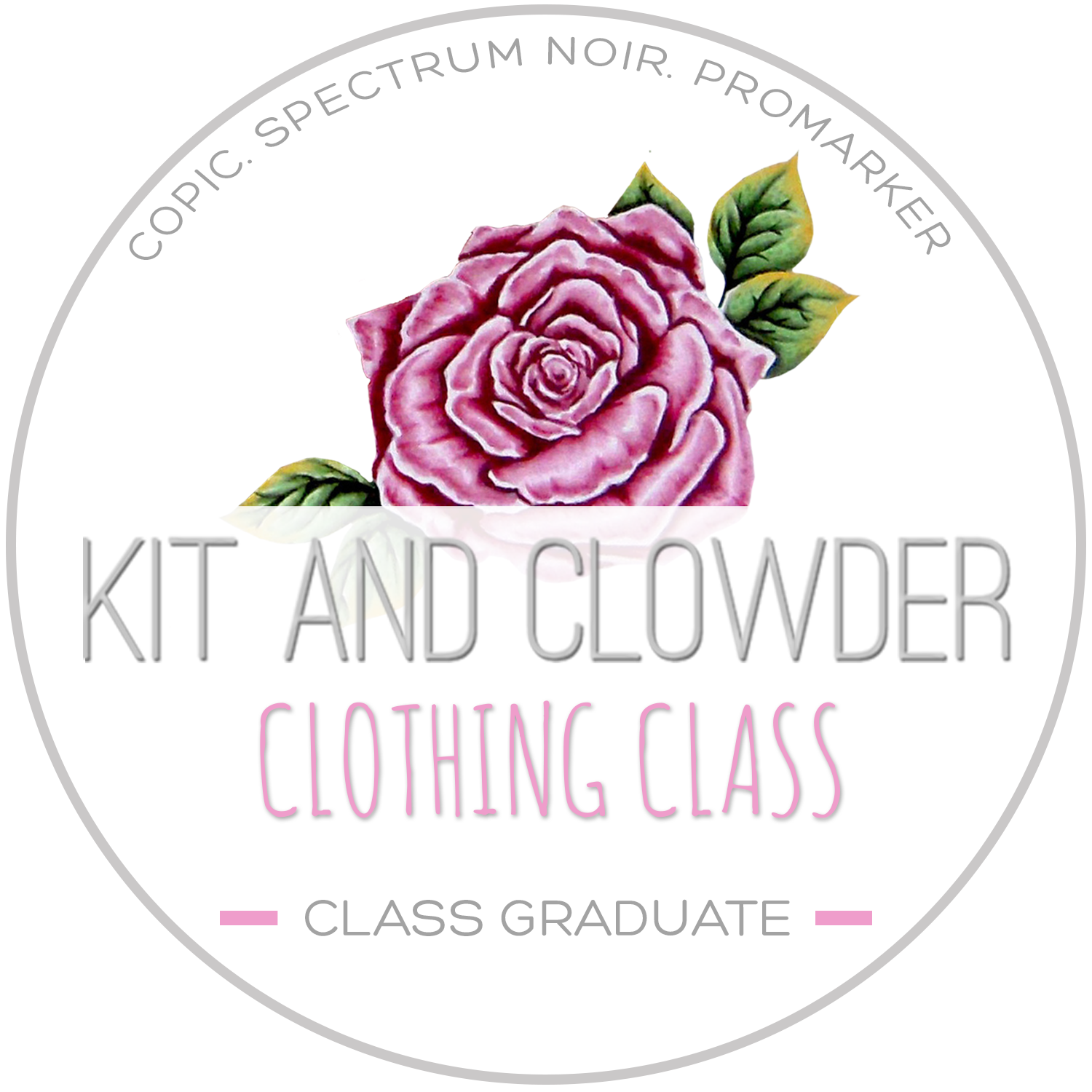 Kit and Clowder Clothing Technique Class Graduate