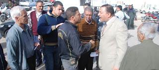 جولة مفاجئة لمحافظ سوهاج على منافذ توزيع إسطوانات البوتاجاز