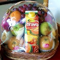 parcel buah harga Rp600.000,-