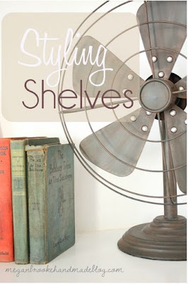 Styling and Decorating Shelves 