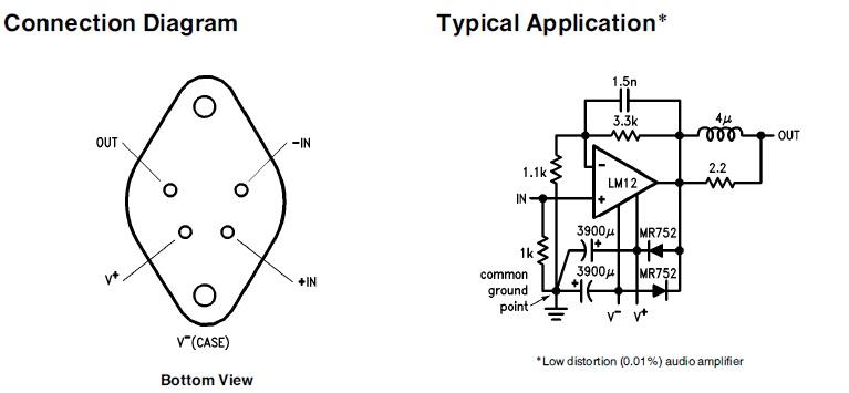 electronics technology  lm12