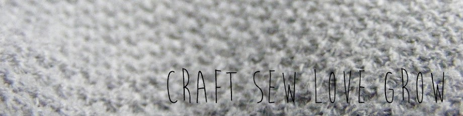 Craft Sew Love Grow