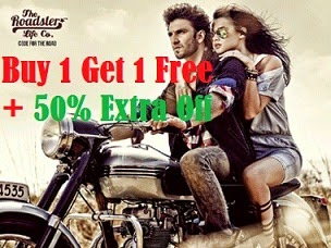 Steal Offer: Buy 1 Get 1 Free + Extra 50% Off on Roadster Clothing & Footwear at Myntra