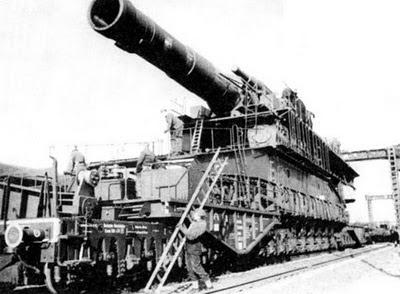 mortir terbesar jerman