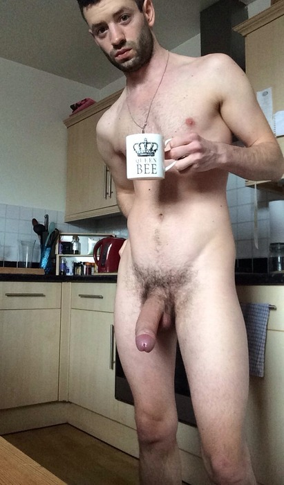 nude guys in the morning