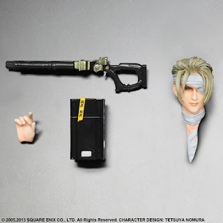 Square Enix Play Arts Kai Final Fantasy VII Advent Children Rufus Shinra Figure