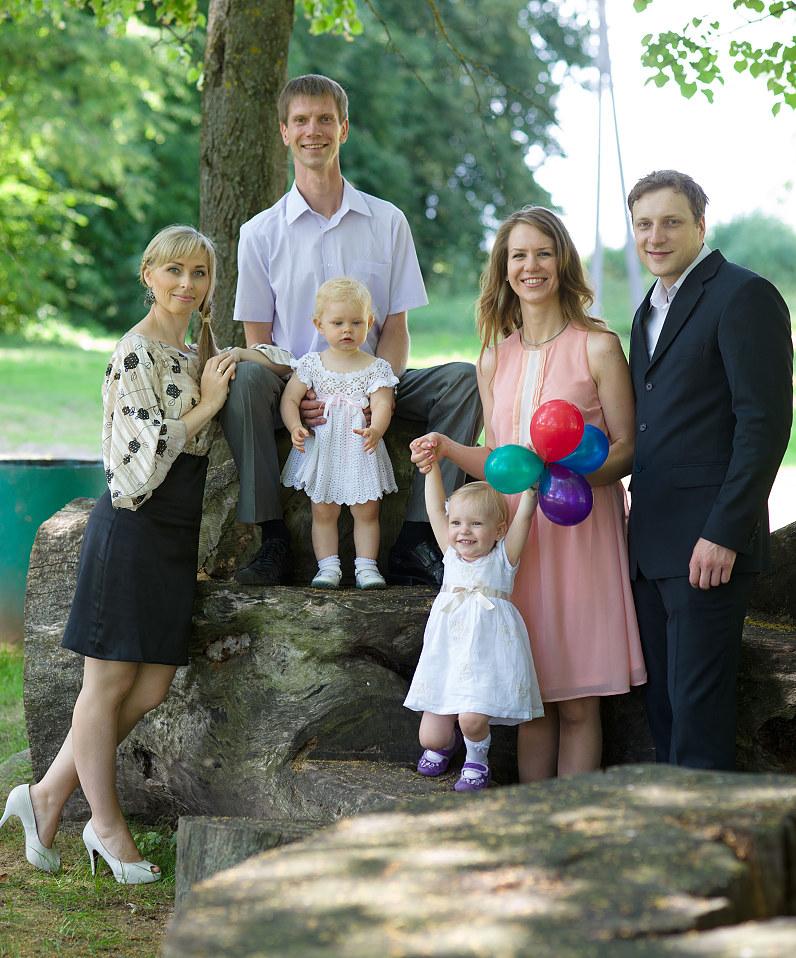 šeimos ir krikštynų fotografija