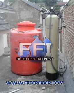 Pemasangan Filter Air FRP 10 di Jalan Lodan Jakarta Utara
