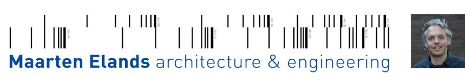 Maarten Elands architecture and engineering