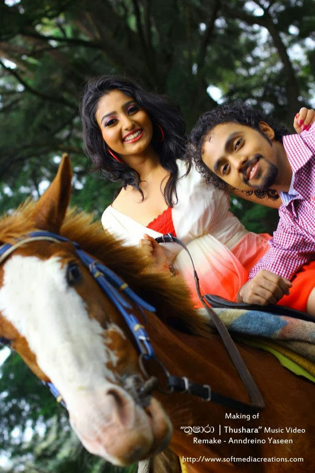 Vinu Siriwardena music video