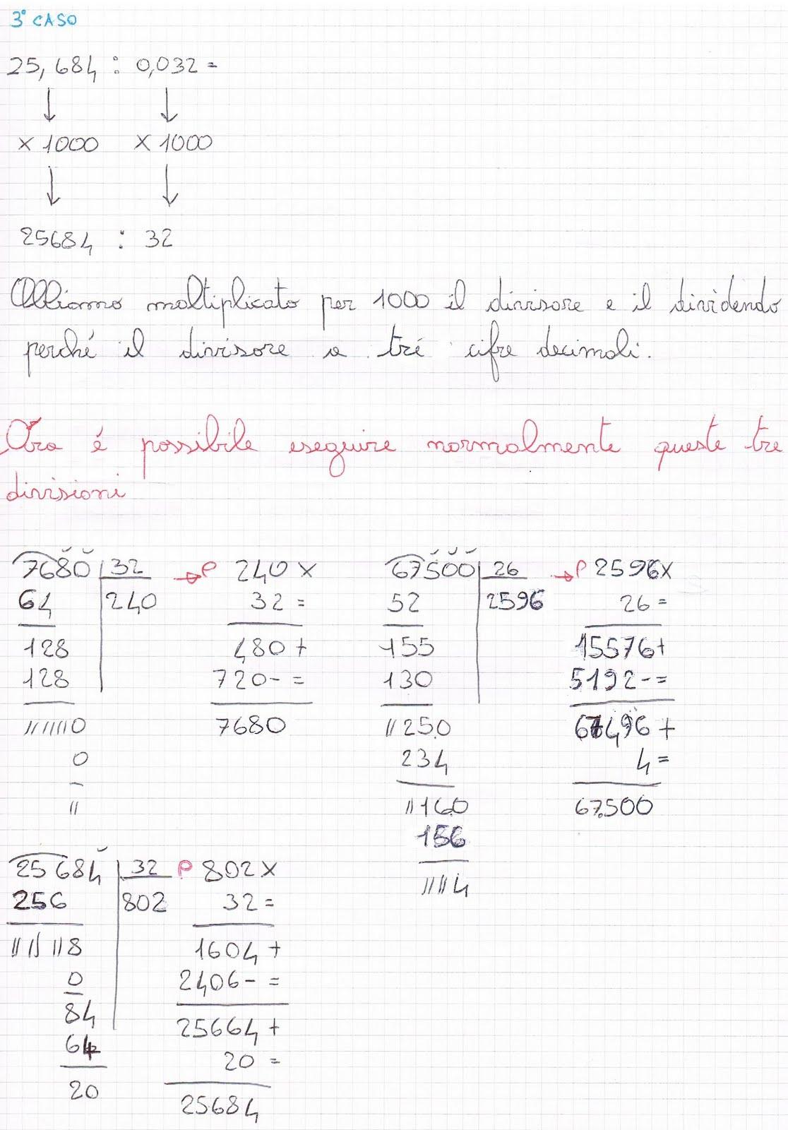 Eccezionale Divisioni con il divisore decimale YD59